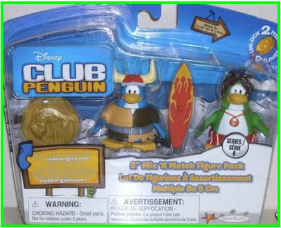 Desbloquear articulos Club Penguin